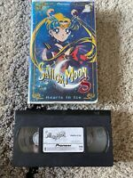 Sailor Moon S The Movie - Hearts in Ice (VHS, 2000, Edited Dubbed)