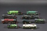9x Lokomotive Spur H0   (AN421)