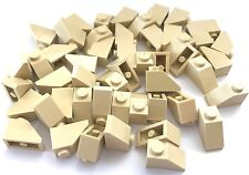 *NEW* 50 Pieces Lego TAN Slope 45 2x1 ROOF 3040