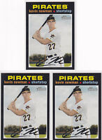 LOT (5) 2020 TOPPS HERITAGE KEVIN NEWMAN PITTSBURGH PIRATES - Y2330