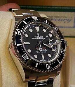 Rolex Sea-Dweller with Ceramic Bezel. Men's Black. ref.126600