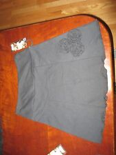 """Open Arms Shop  Skirt S USA NWT Black Recycled Fabric womens W 29 to 31 x 17"""""""