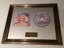 SIGNED/AUTOGRAPHED KITTY BRUCKNELL - GLAMOUR AND DAMAGE FRAMED CD PRESENTATION