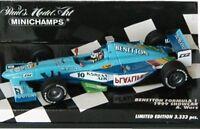MINICHAMPS 860020 990080 970098 BENETTON F1 model car Berger & Wurz 1986/99 1:43
