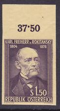 "Ö.1954 ANK.Nr.:1006 PUI""Rokitansky""Probedruck violett ungezähnt Andruckpapier !"