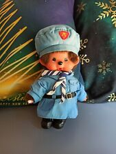 Monchhichi rare scout bleue