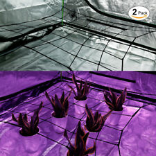 VIVOSUN 2-Pack Elastic Scrog Net Trellis for Grow Tent 4'x4' 2'x4' 5'x5' 3'x3'