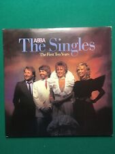 Abba The Singles Gatefold 2 Vinyl LP Set Dated 1982