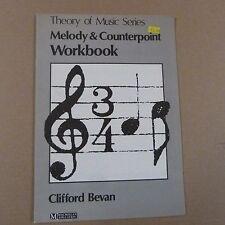 LIBRI MELODY & contrappunto cartella di lavoro Clifford Bevan