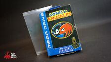 Sonic et Knuckles Sega Mega Drive Jeu Complet Avec Guide rapide et gratuit UK P