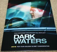 DARK WATERS MARCELO ZARZOS HAND SIGNED AUTOGRAPHED SHEET MUSIC FYC promo