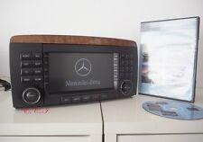 2005~2008 GENUINE Mercedes W251 R350 R500 Navigation Comand Radio + DVD MAP CD