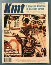Kmt Magazine - A Modern Journal of Ancient Egypt Winter 2009-2010