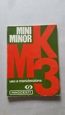 Innocenti Mini Minor MK3 1971 manuale uso manutenzione auto originale