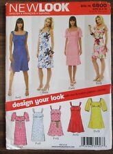 NEWLOOK Sewing Pattern no. 6800 Ladies Dress size 6-16 NEW