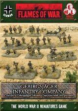 Flames of War - German: Gebirgsjager Infantry Company GBX59