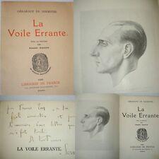 LA VOILE ERRANTE Gérardot de Sermoise portrait de Pierre Girieud  envoi !