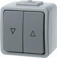 Berker 307525 Jalousie-Wippenschalter mit Aufdruck Symbol Pfeile Aquatec IP44