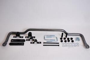 "Hellwig Sway Bar Gray Hammertone Chromoly Steel Front 1 3/8"" Dia Ford E-350 Van"