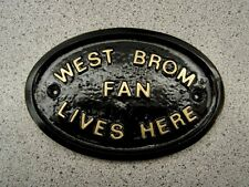WEST BROMWICH - HOUSE PLAQUE SIGN GATE WALL CITY TOWN