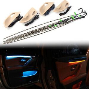 Dual Color Car Interior LED Ambient Door Light Stripes Fit BMW 5 Series F10/ F11