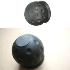 50mm Tow Ball Cover Caps Towing Hitch Caravan Trailer Towball Protect Black ba