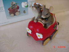 "Fitz & Floyd 1997 Charming Tails Figurine #82/107- ""The Get Away Car"""