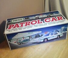 Hess Toy Trucks 1993 Patrol Car First Responder New in the BOX! - A Police Gift