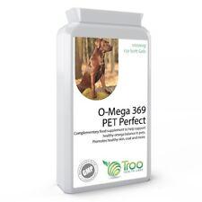 O-Mega 369 Pet Perfect 1000mg 120 Capsules Cats &Dogs Coat, Skin Health Support
