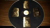 Rare Zippo D-Day 50th Anniversary Edition Set 1944-1994 Allied Heroes Normandy
