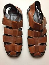 c023b2a4c69e3 To Boot New York Mens Sandal Size 10 Brown Leather Closed Toe Fisherman  Italy