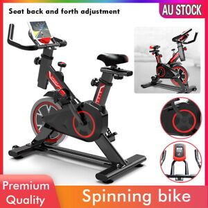 2021 Fitness Exercise Spin Bike Flywheel Commercial Indoor Home Gym LCD Machine