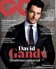 GQ Magazine MEXICO October 2016 DAVID GANDY NEW