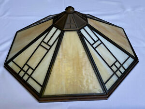 Casablanca Ceiling Fan Leaded Shade Mission---Bronze