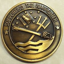 DoD Support The Warfighter Military Challenge Coin