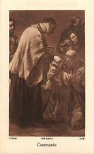 "Seria applicazione terrificanti immagine sacro preghiera Immagine Holy card Ars Sacra ""h2216"" Communio"
