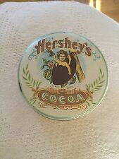 Vintage Cherub Hersheys Cocoa Tin Container Advertising Packaging