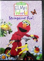 Elmo's World Springtime Fun! Preschool Learning About the World Brand NEW DVD