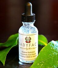 Babyface Hyaluronic Acid Serum Wrinkle Matrixyl Vitamin C Anti Aging Plumping