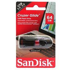 SanDisk SDCZ600 64GB Cruzer Glide USB 3.0 CZ600 Flash Drive