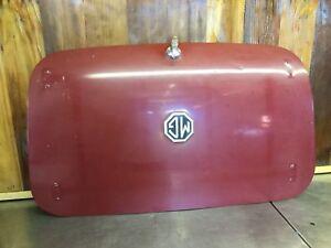 MG Midget / Austin Healey Sprite 1961-80 • Trunk / Deck Lid. Used.     MG2168