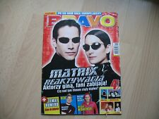 Bravo12/03 Keanu Reeves Matrix Blue Linkin Park Good Charlotte Tatu Lopez Eminem