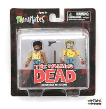 Walking Dead Minimates Series 5 Geek Zombie & Survivor Morgan
