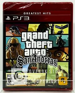 Grand Theft Auto: San Andreas (Greatest Hits) - PS3 - Brand New | Factory Sealed
