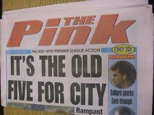 31/01/1998 COVENTRY evening Telegraph il rosa: principali titolo recita: è la OL