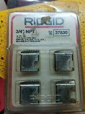 "RIDGID 37830 3/4""  NPT PIPE THREADING DIES"