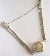 Vintage White Gold Filled LONGINES Ladies Watch