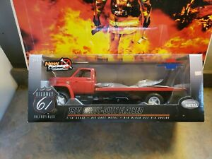 Rare 1975 Heavy-Duty Flatbed **RED* Chevy C65 1:16 Highway 61 HARD TO FIND NICE