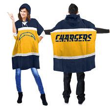 San Diego Chargers Hoodie Sweatshirt Logo Poncho NEW - Hooded