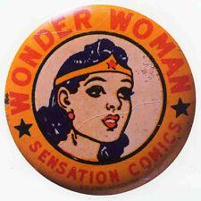 WONDER WOMAN REPRO 1942 STICKER . DC COMICS